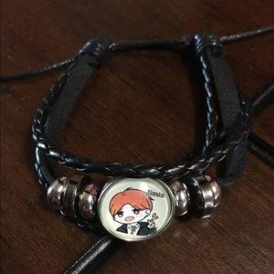 Jewelry - BTS Jimin Cartoon Adjustable Bracelet